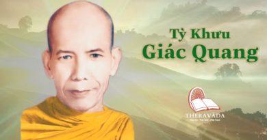 Tỳ Khưu Giác Quang 2