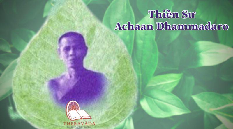 Thiền sư Achaan Dhammadaro 2