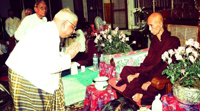 SN Goenka and Shwe Oo Min Sayadaw 2