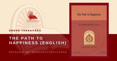 THE PATH TO HAPPINESS (ENGLISH) - SAYADAW DR. NANDAMALABHIVAMSA