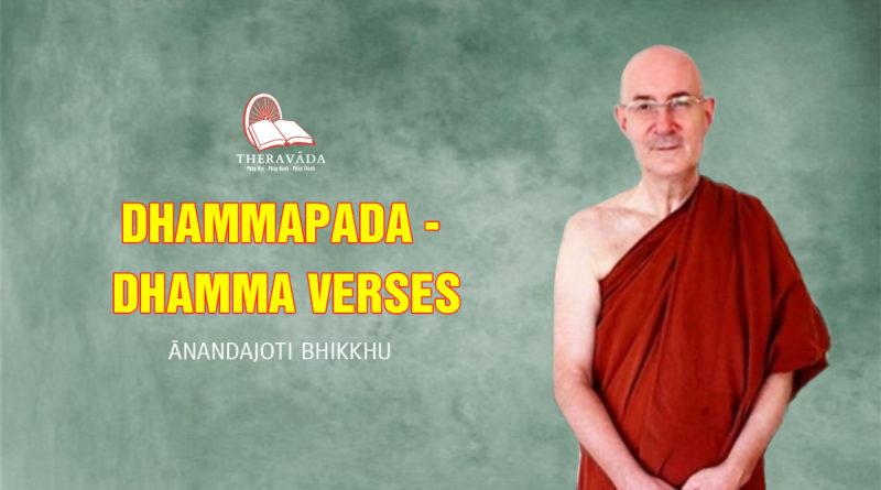 Dhammapada – Dhamma Verses