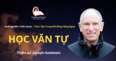 Hoc-van-tu-Joseph-Goldstein-Theravada