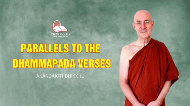 Parallels to the Dhammapada Verses