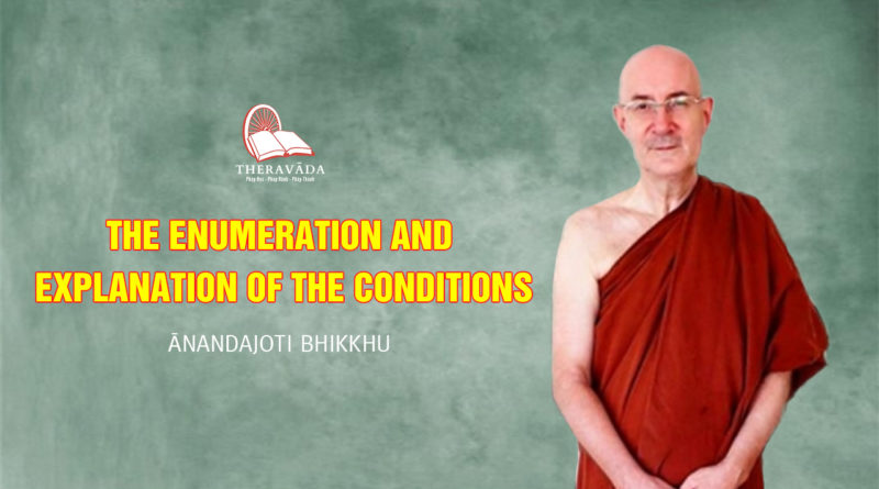 The Enumeration and Explanation of The Conditions