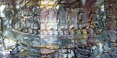Album The Bayon Wall Murals