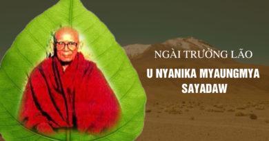 U Nyanika Myaungmya Sayadaw 1