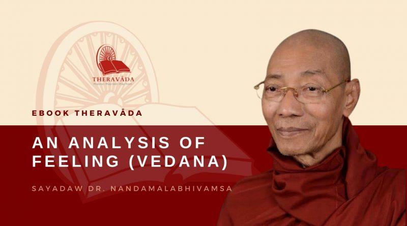 AN ANALYSIS OF FEELING (VEDANA) - DR. NANDAMALABHIVAMSA